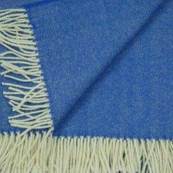 Sofa Decke Blau
