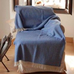 Blue Sofa Throw