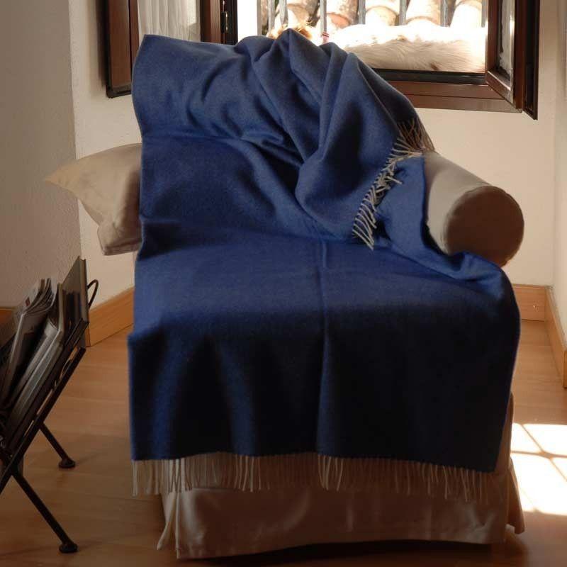 Sofa throw Indigo