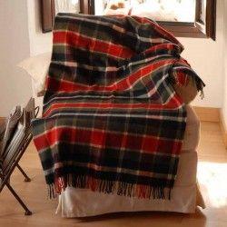 Plaid Tartan Escocés