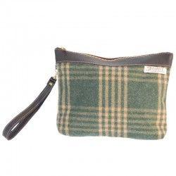 Check Green Handbag