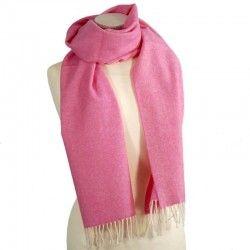 Wollschal Pink