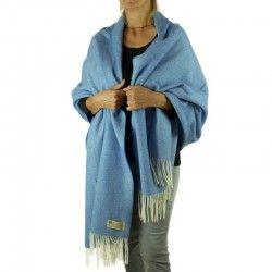 France Blue Shawl