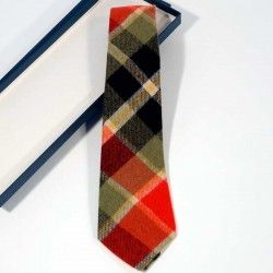 Krawatte Schottenkaro