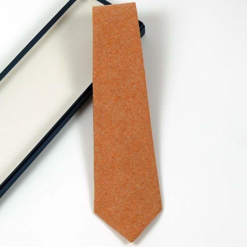 Krawatte Orange