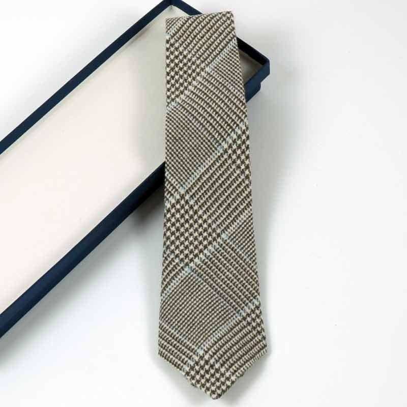 Corbata Príncipe de Gales Azul