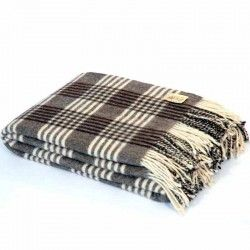 Check Merino Blanket