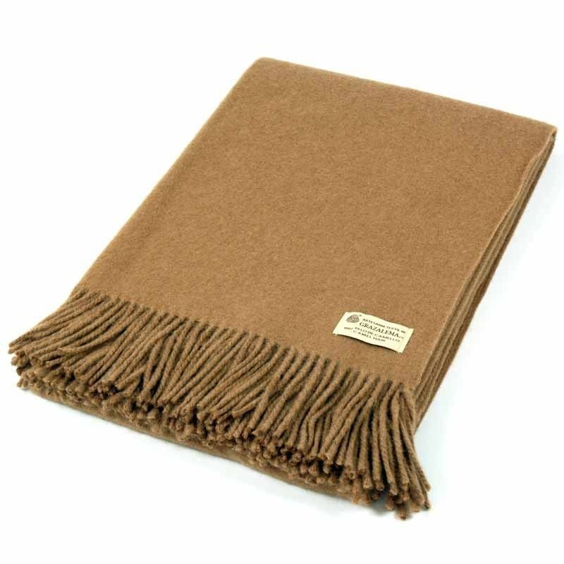 Camel Hair Blanket