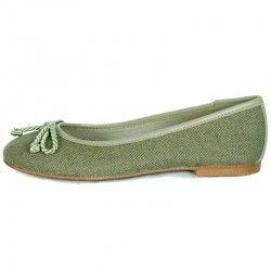 Green Ballerina Pumps