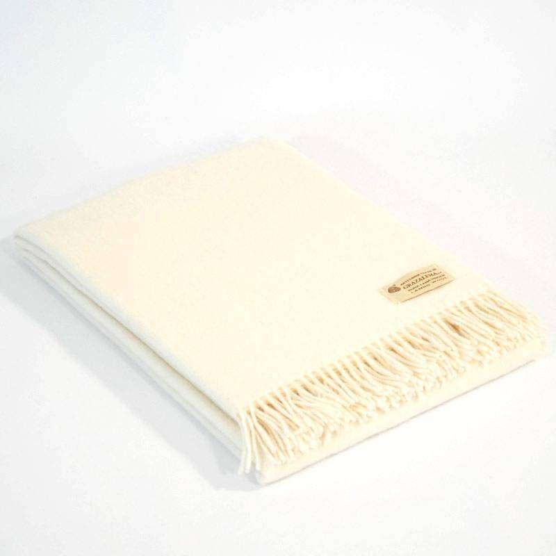White Sofa Throw
