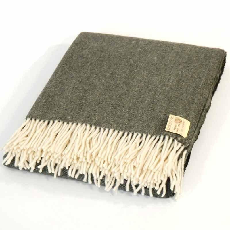 Green Throw Blanket