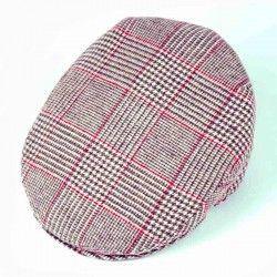Check Wales Flat Cap