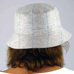 Grey Check Cap