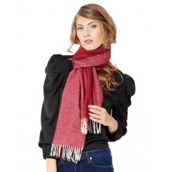 Burgundy Stripes Scarf