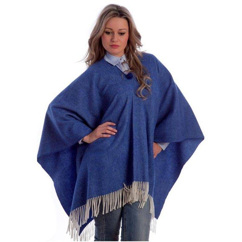Blue Poncho