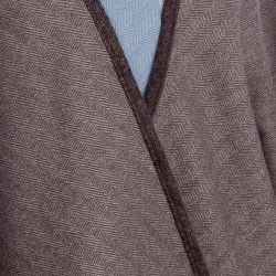 Grey Short Cape