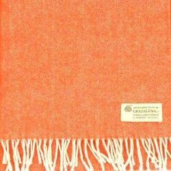 Wollschal Orange