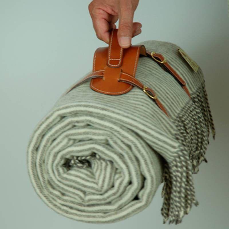 Leather Transport Blankets
