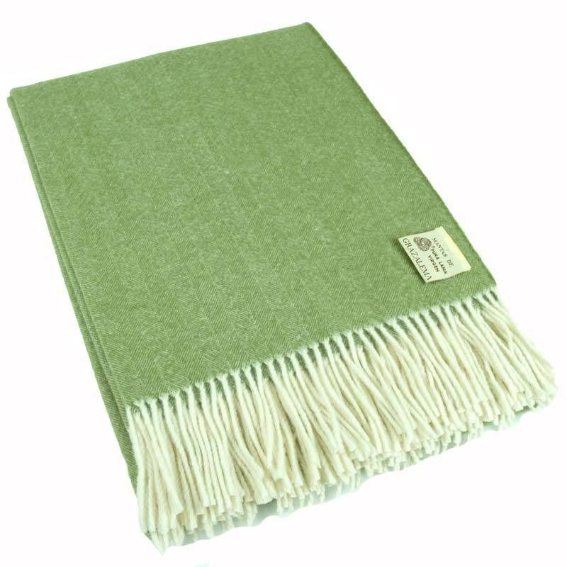 Green Personalized Blanket