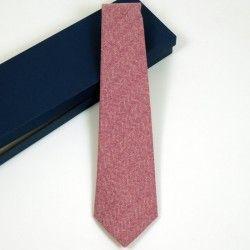 Krawatte Bordeaux Kariert