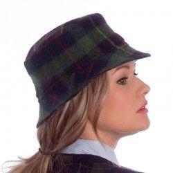 Tartan Round Cap