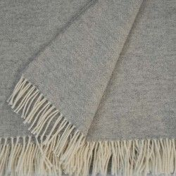 Light Grey Sofa Throw