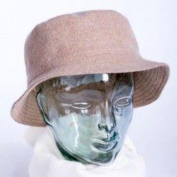Beige Round Cap