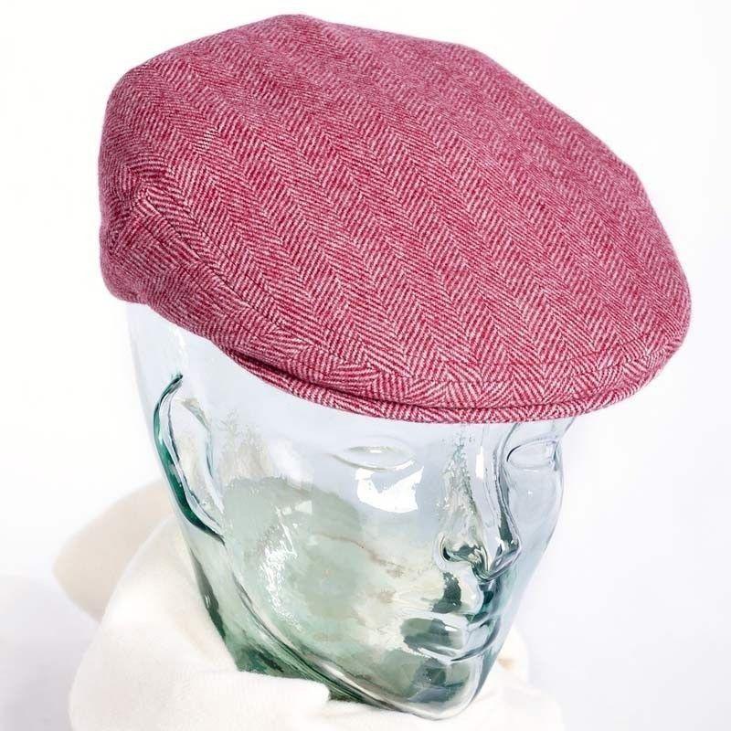 Burgundy Flat Cap