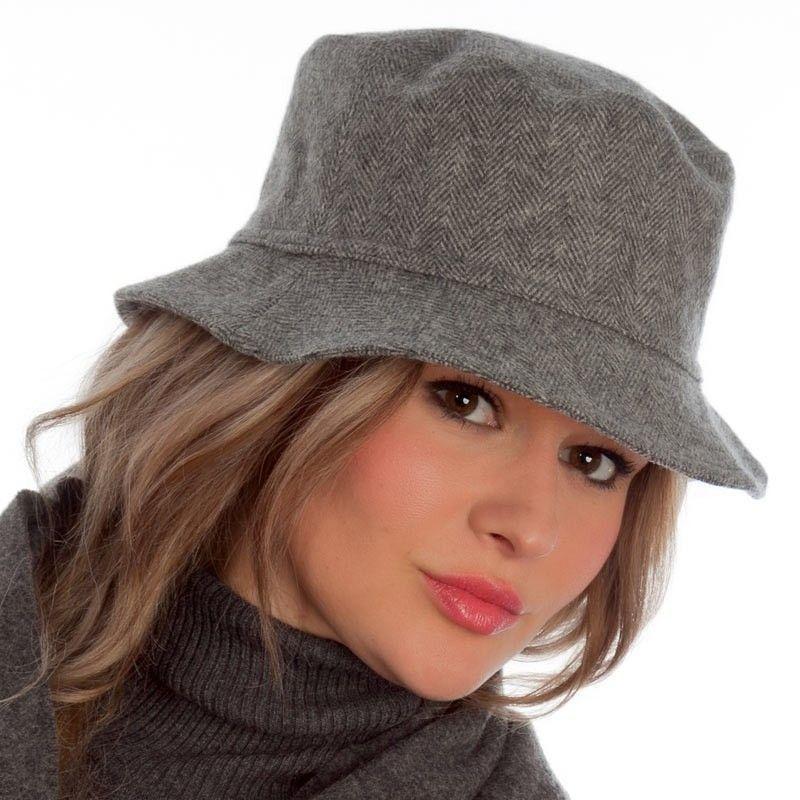 Grey Round Cap