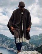 Ponchos Artesanales Hombre | Rocieros y Romerías | GRAZALEMA