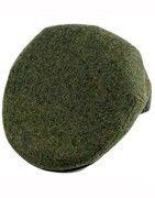 Wool flat caps for men
