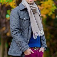Bufanda hombre elegante