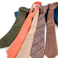 krawatten aus wolle