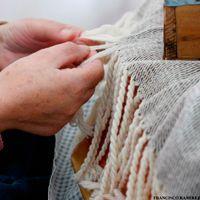 Mantas artesanales lana